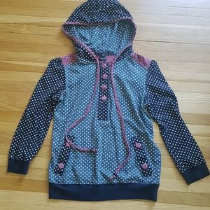 Marc Jacobs polka dots hoodie sz.xs
